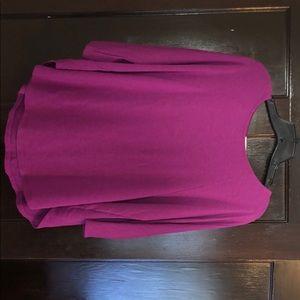 Purple tunic, Vestique, size Small, NWOT